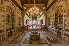 Emir Bachir Chahabi Palace Beit ed-Dine Lebanon. Emir Bachir Chahabi Palace Beit ed-Dine in mount Lebanon Middle east royalty free stock images