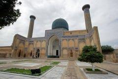 Emir de Gur-e, tumba, Samarkand, Uzbekistan imágenes de archivo libres de regalías