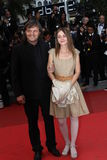 Emir Kusturica and his daughter Royalty Free Stock Image