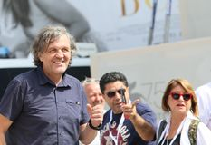 Emir Kusturica walks the red carpet ahead of the `El Pepe, A Sup Royalty Free Stock Photography