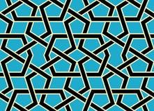 Emir-nahtloses Muster Stockfoto