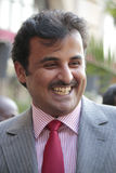 Emir of Qatar Royalty Free Stock Image