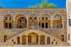 Emira Bachir Chahabi pałac Beit je obiad Liban fotografia royalty free