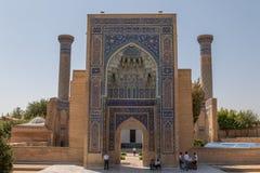 Emira mauzoleum w Samarkand obrazy royalty free
