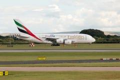 Emirados A380 Foto de Stock