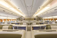Emirados Airbus A380 Fotos de Stock