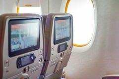 Emirados Airbus A380 Fotografia de Stock Royalty Free