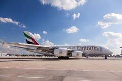 Emirados Airbus A380-800 Fotos de Stock