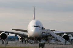 Emirados Airbus A380 800 Imagem de Stock