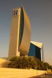 Emirados modernos NBD do arranha-céus Fotografia de Stock