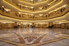 Emirados palácio, Abu Dhabi Foto de Stock Royalty Free