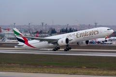 Emirat-Abfahrt Lizenzfreie Stockbilder