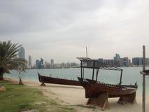 Emirat-Erbdorf, Abu Dhabi, vereinigte arabische Emirate Lizenzfreie Stockbilder