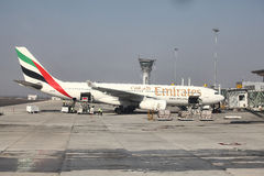 Emirat-Fluglinien stockfotografie