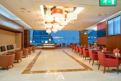Emirat klasy business hol Zdjęcie Stock