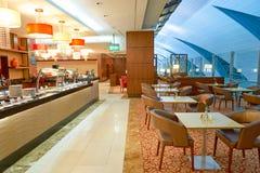 Emirat klasy business hol Obrazy Stock