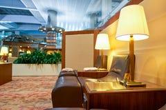 Emirat klasy business hol Fotografia Stock
