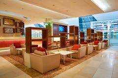 Emirat klasy business hol Obraz Royalty Free