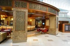 Emirat klasy business holu wnętrze Zdjęcia Stock