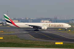 Emirat linia lotnicza Zdjęcia Stock