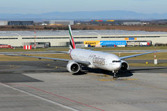 Emirat linie lotnicze Obraz Royalty Free