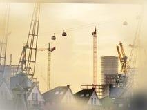Emirat-Luftverkehrslinie, London Stockfotografie