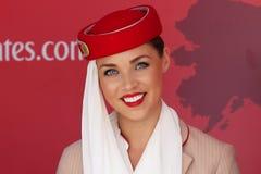 Emirat-Modell Lizenzfreie Stockfotos