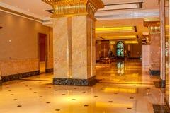 Emirat-Palast Abu Dhabi Stockfoto