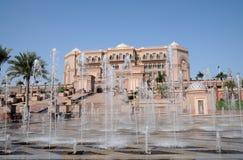 Emirat-Palast in Abu Dhabi Lizenzfreie Stockbilder