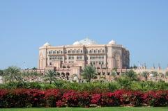Emirat-Palast in Abu Dhabi Stockfotos