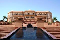 Emirat-Palast Abu Dhabi Stockfotos