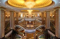 Emirat-Palast in Abu Dhabi Lizenzfreies Stockbild