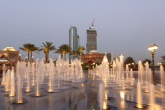 Emirat-Palast in Abu Dhabi Stockbilder