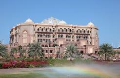 Emirat-Palast in Abu Dhabi Lizenzfreies Stockfoto