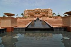 Emirat-Palast Abu Dhabi Stockfotografie