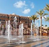 Emirat-Palast in Abu Dhabi Stockfoto