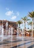 Emirat-Palast in Abu Dhabi Stockbild