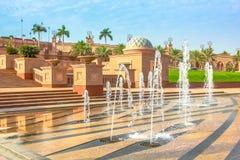Emirat-Palast Abu Dhabi Stockbild