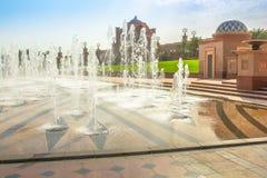Emirat-Palast Abu Dhabi Lizenzfreie Stockfotografie
