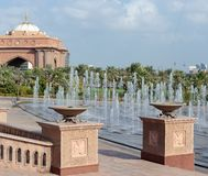 Emirat-Palast in Abu Dhabi Lizenzfreie Stockfotos