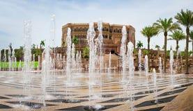 Emirat-Palast in Abu Dhabi am 5. Juni Stockbilder