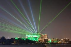 Emirat-Palast in Abu Dhabi, UAE Lizenzfreies Stockfoto