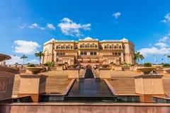 Emirat-Palast, Abu Dhabi, Vereinigte Arabische Emirate Stockfotografie