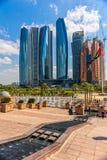 Emirat-Palast, Abu Dhabi, Vereinigte Arabische Emirate Lizenzfreie Stockbilder