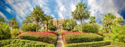 Emirat-Palast-Hotel Stockfoto