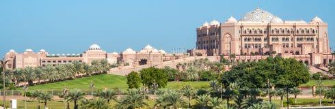 Emirat-Palast-Hotel in Abu Dhabi Lizenzfreies Stockbild