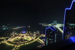 Emirat-Palast-Hotel in Abu Dhabi Lizenzfreie Stockfotografie