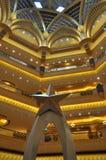 Emirat-Palast-Hotel in Abu Dhabi, UAE Lizenzfreies Stockfoto