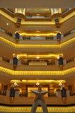 Emirat-Palast-Hotel in Abu Dhabi, UAE Lizenzfreie Stockfotos