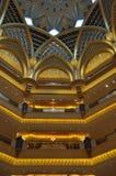 Emirat-Palast-Hotel in Abu Dhabi, UAE Stockbild